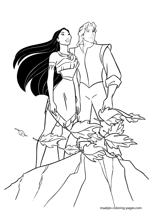 Pocahontas Coloring Pages | Kids Coloring Page | Ausmalbilder ... | 842x595