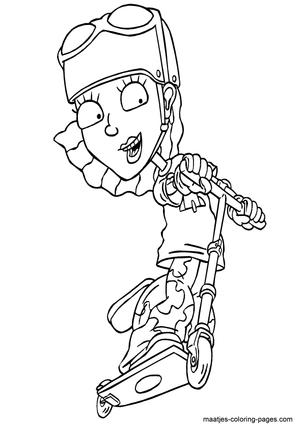Rocket Power coloring page