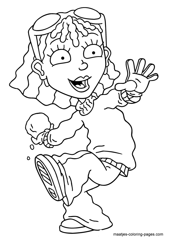 Rocket power coloring page for Rocket power coloring pages