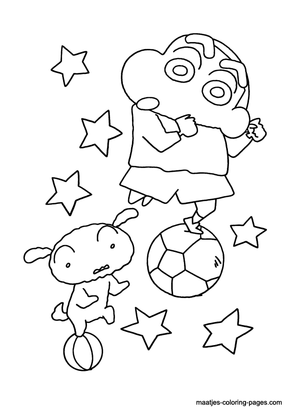 shin chan coloring pages shin chan free colouring pages