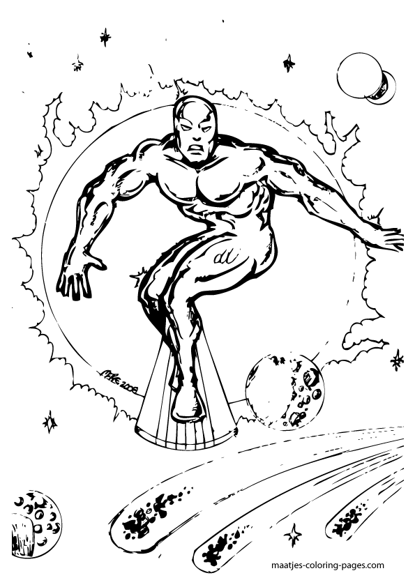 surfer coloring pages - photo#30