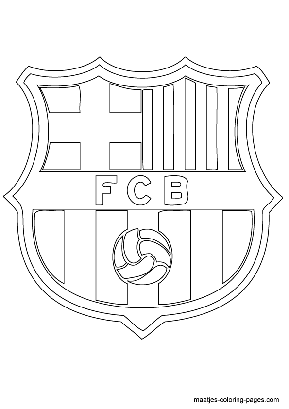 soccer coloring pages neymar barcelona - photo#28
