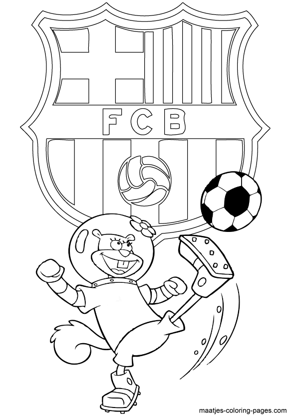 barcelona coloring pages to color | Barcelona Coloring Pages Coloring Pages