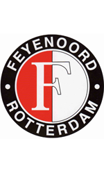 Maatjes-Coloring-Pages.com - Feyenoord soccer logo coloring page