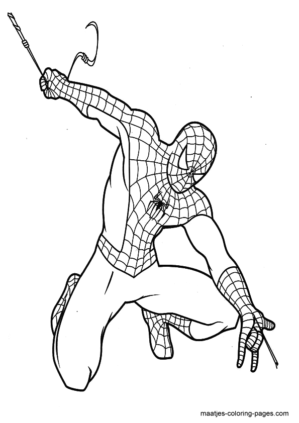 Amazing spider man free coloring pages for Amazing spiderman 2 coloring pages