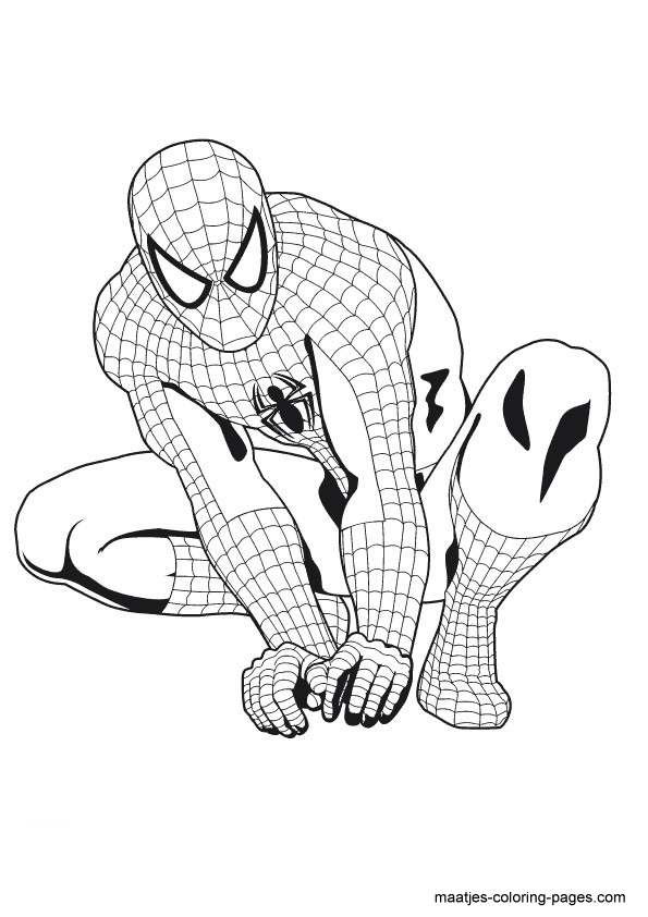 The gallery for iron spiderman wallpaper for Iron spiderman coloring pages