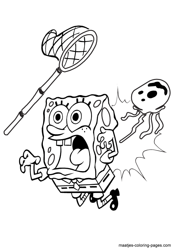 Free Printable Spongebob Squarepants Coloring Pages For Kids ...   842x595
