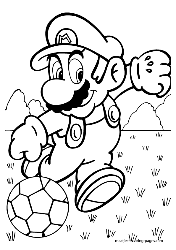 coloring book ~ Super Mario Brothersng Book Pages Free To Print ... | 842x595