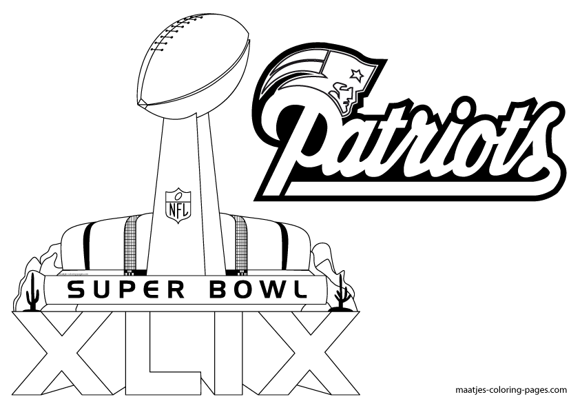 superbowl coloring pages - superbowl 2015 coloring pages new calendar template site