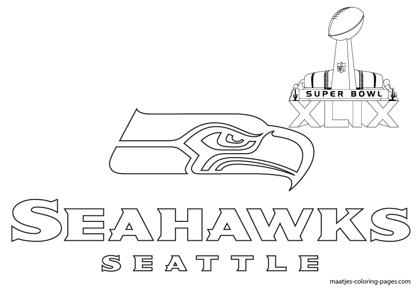 seattle seahawks helmet coloring pages - photo#21