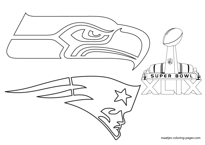football coloring pages patriot - photo#35