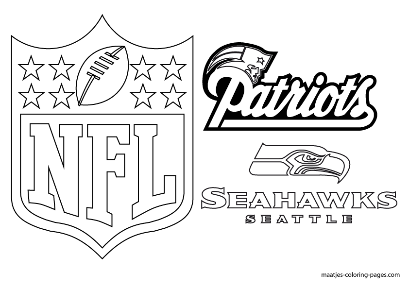 super bowl printable coloring pages - photo#15