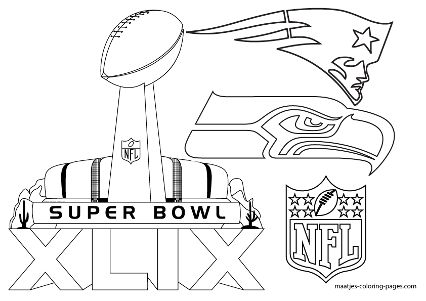 super bowl xlix coloring sheets search results calendar 2015