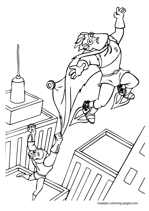 Here is the The Incredibles 2 Coloring Page! Click the picture to ... | 842x595