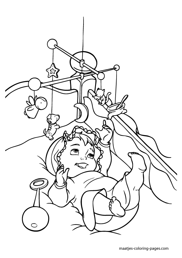 ... Coloring Pages baby belle coloring pages - high quality coloring pages