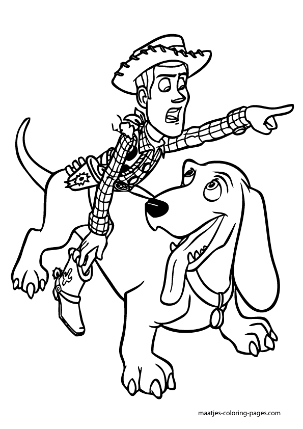 101 Toy Story Coloring Pages (July 2020)...Woody Coloring Pages too... | 842x595