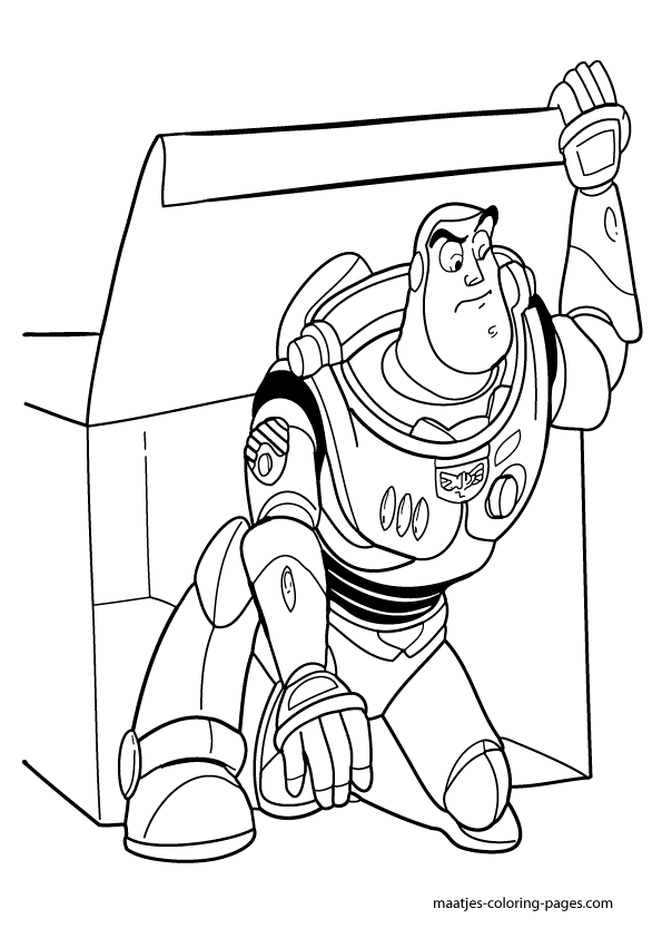 NEW Toy Story 4 Free Coloring Sheets - April Golightly | Toy story ... | 842x595