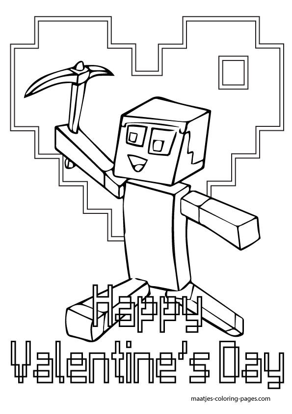 Minecraft Coloring Book Coloring