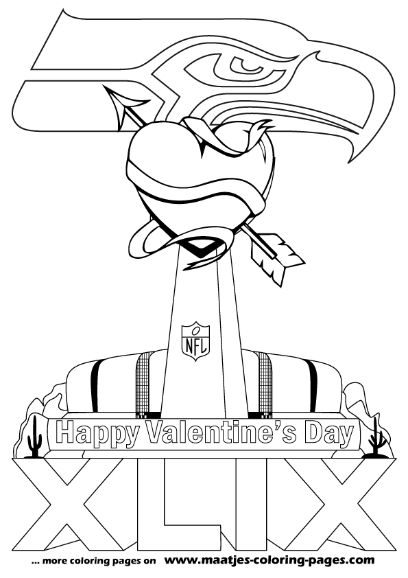 coloring pages super bowl - super bowl 2016 coloring sheets coloring pages