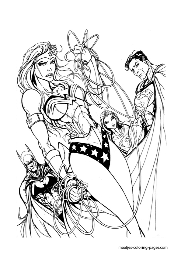 wonder woman amazon coloring pages - photo#22