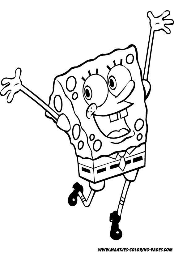 SpongeBob SquarePants coloring pages