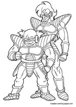 Free Dragonball Coloring Pages