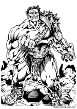 Hulk coloring pages on Coloring-Book.info | 212x150