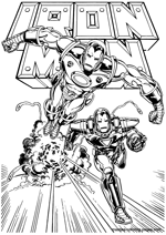 Iron  Coloring Pages on Free Ironman Coloring Book Pages You Can Print And Color