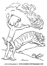 Jungle Book Coloring Pages 1 2 3