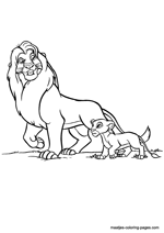 Hyena Coloring Pages - GetColoringPages.com | 212x150