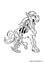 Coloring Pages Cowboy Gun Fights