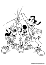 Coloring Pages Of Disneys Hero Mickey Mouse