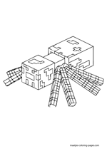coloring pages minecraft ocelot | Minecraft coloring pages