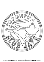Blue Jays Mlb Coloring Pages Coloring Coloring Pages