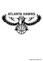 atlanta hawks coloring pages 1 the atlanta hawks are an