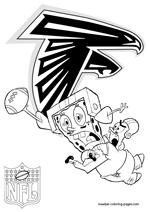 Atlanta Falcons Coloring Pages