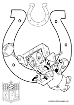indianapolis colts coloring pages - indianapolis colts coloring pages