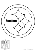 pittsburgh steelers coloring pages