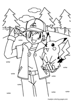 Ash Ketchum and Pikachu