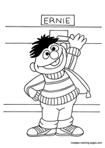 Sesame Street Coloring Pages on Free Sesame Street Coloring Book Pages You Can Print And Color