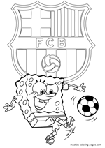 coloring pages barcelona fc fixtures - photo#26