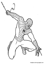 The Amazing Spider Man Coloring Pages: Amazing Spider Man Coloring ... | 212x150