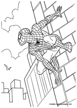 Spider Man Noir Coloring Pages Printable   212x150