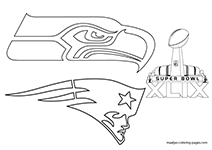 Superbowl Coloring Pages - Coloring Home | 150x212