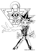 yu gi oh card coloring page - Clip Art Library   212x150